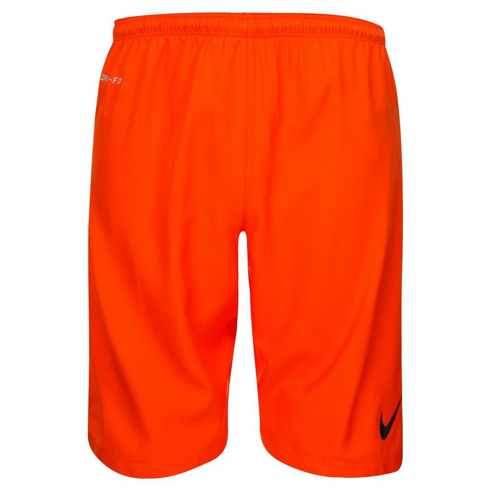 NIKE Laser II Short Herren in orange / schwarz