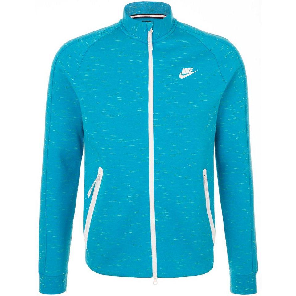 Nike Sportswear Tech Fleece N98 Jacke Herren in blau / weiß