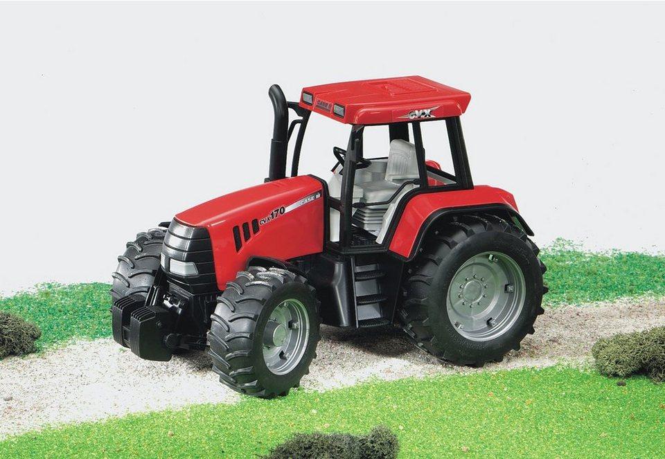 bruder® Traktor, »Case CVX 170 - rot« in weiss