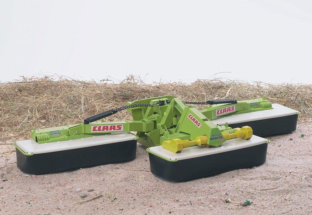 BRUDER 02218 Claas Disco 8550 C Dreifach Mähwerk günstig kaufen Spielzeug-Landwirtschaft