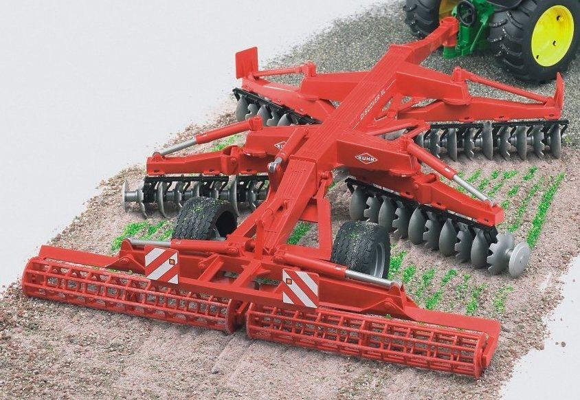 bruder® Scheibenegge, »Kuhn Discover XL« in rot