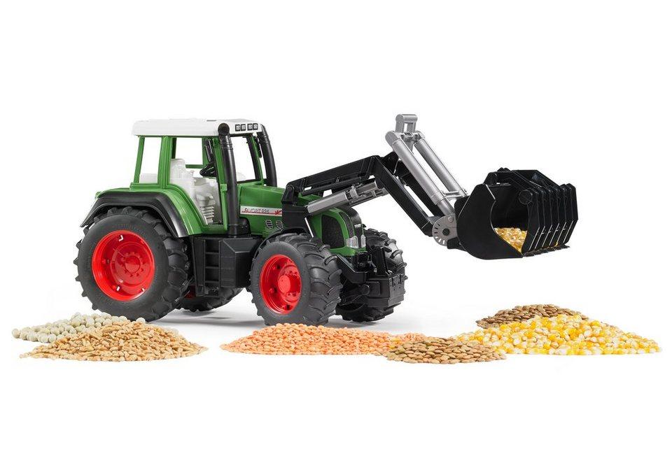 bruder® Traktor, Fendt Favorit 926 Vario + Frontlader - grün in grün