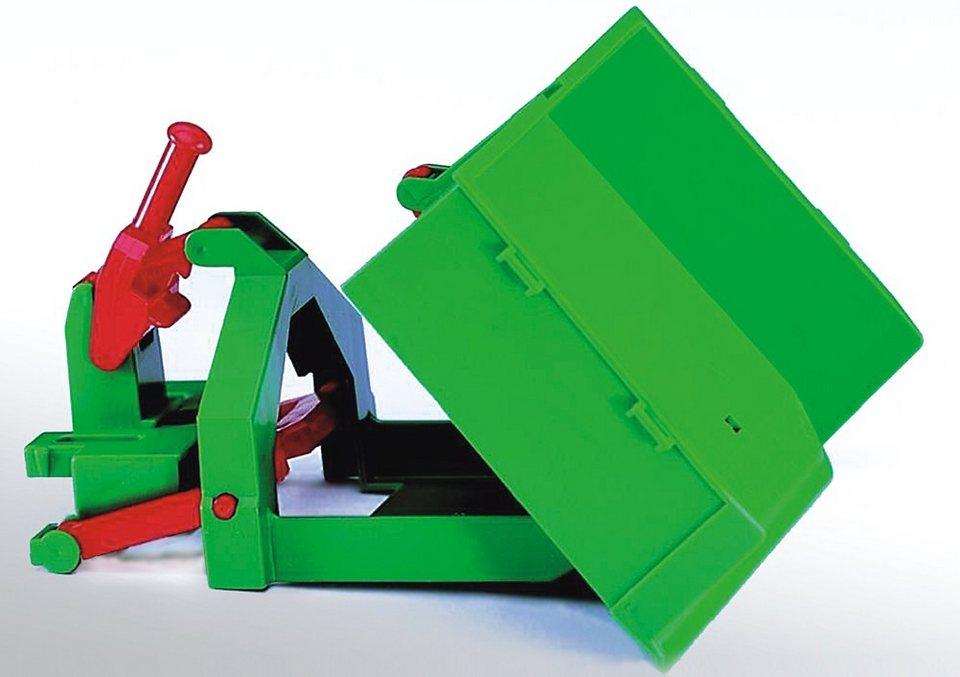 bruder® Lade- und Räumkasten in grün