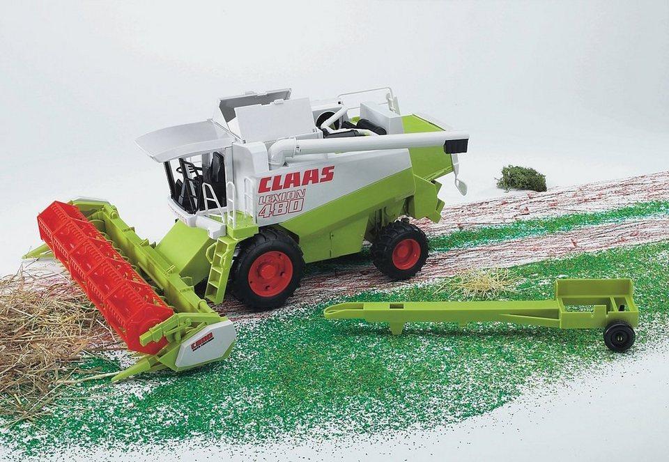 bruder® Mähdrescher, »Claas Lexion 480 - grün« in grün