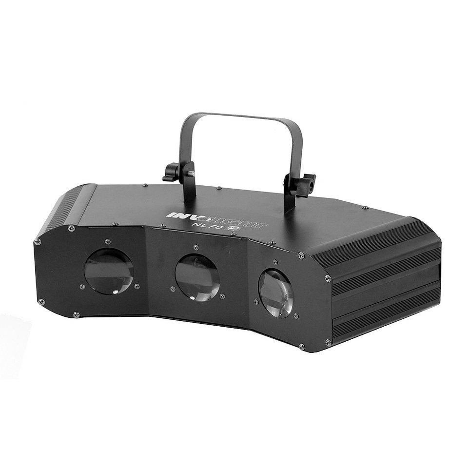 Involight LED-Lichtanlage »NL70« in schwarz