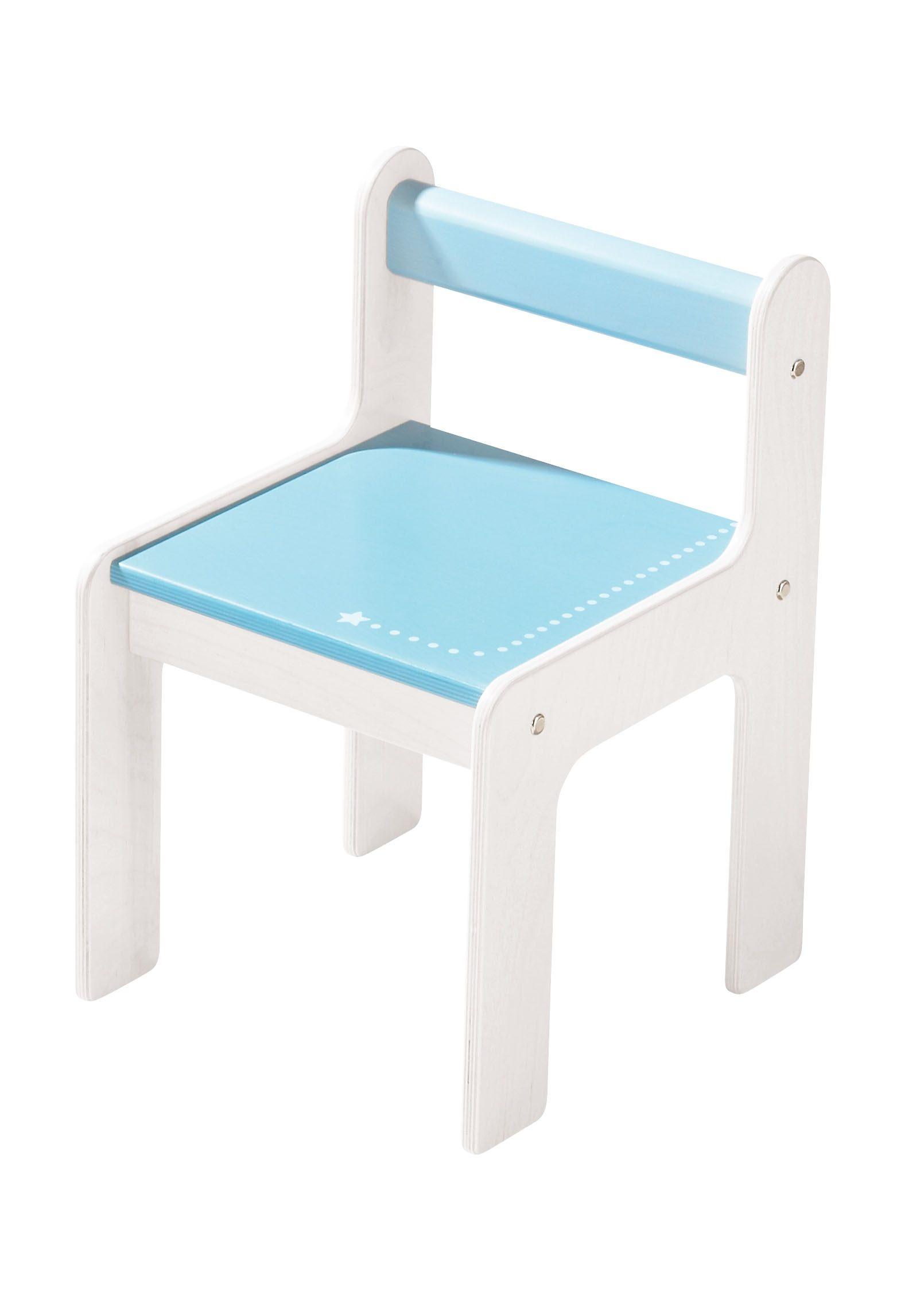HABA® Kinderstuhl »Puncto blau«