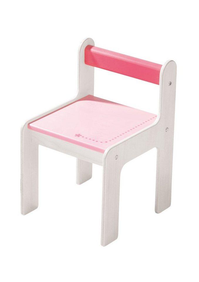 Kinderstuhl, HABA®, »puncto rosa«