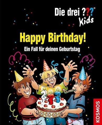 Gebundenes Buch »Die drei ??? Kids. Happy Birthday! (drei...«