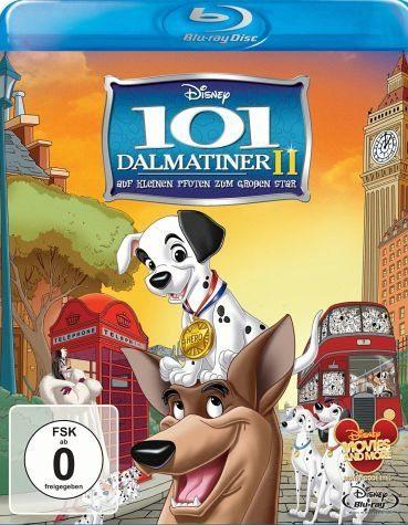 Blu-ray »101 Dalmatiner II - Auf kleinen Pfoten zum...«