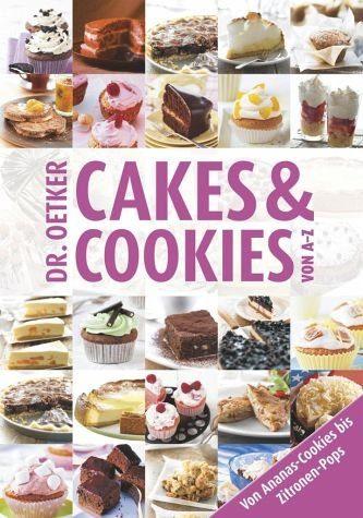 Gebundenes Buch »Cakes & Cookies von A - Z«