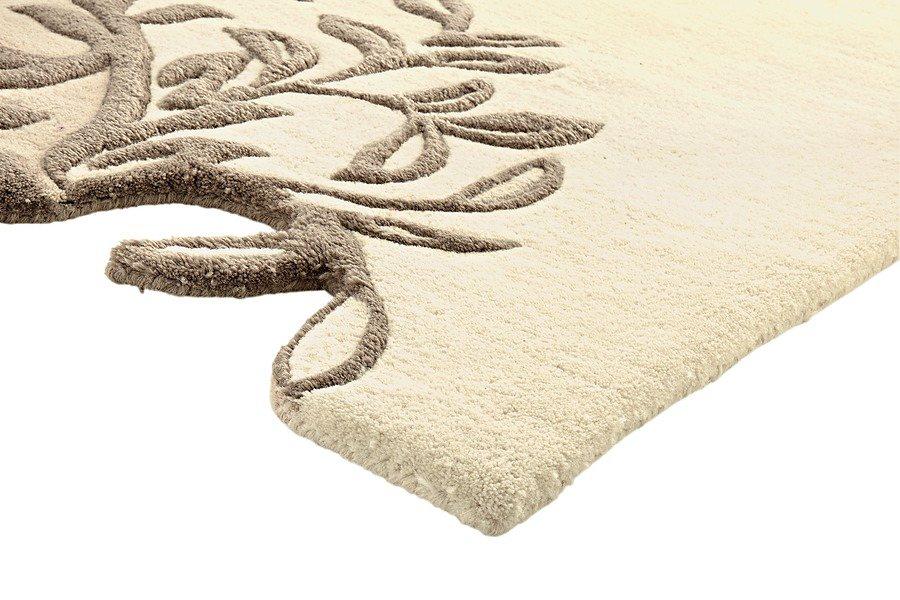 heine home Hochflor-Teppich in beige