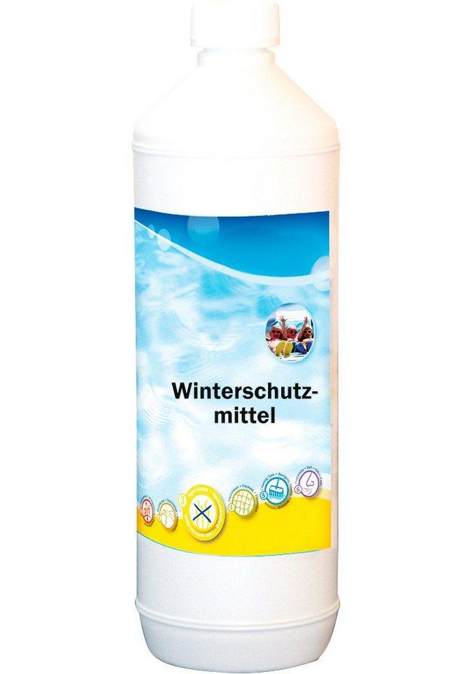 Wasserpflege, Winterschutz in weiß