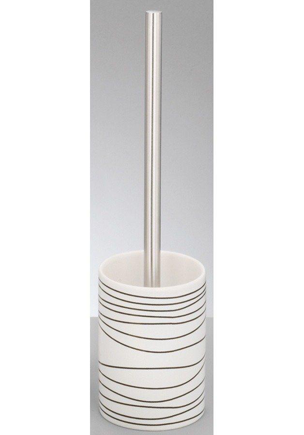 Zeller WC-Garnitur »Wave« in weiß