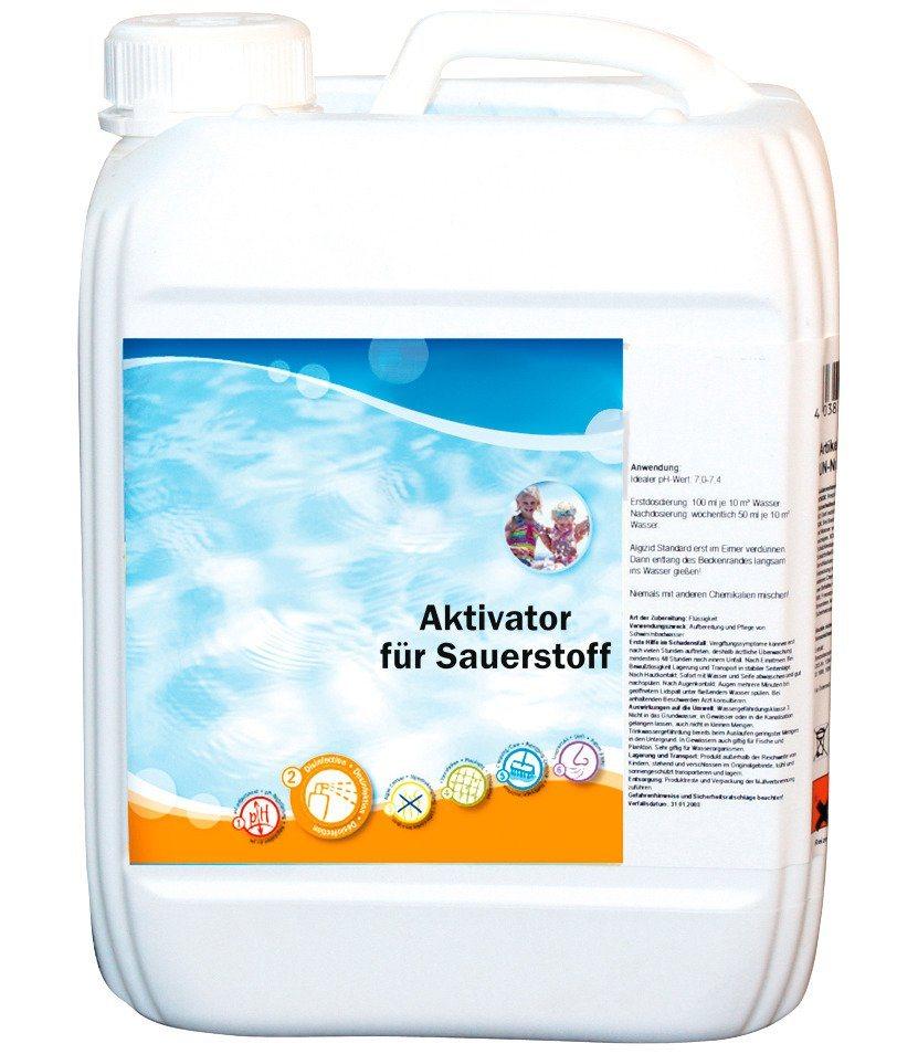 Wasserpflege »Aktivator für Sauerstofftabletten« in weiß