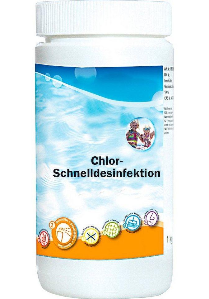 Chlor-Schnelldesinfektion »Granulat 1,2 kg Dose« in weiß