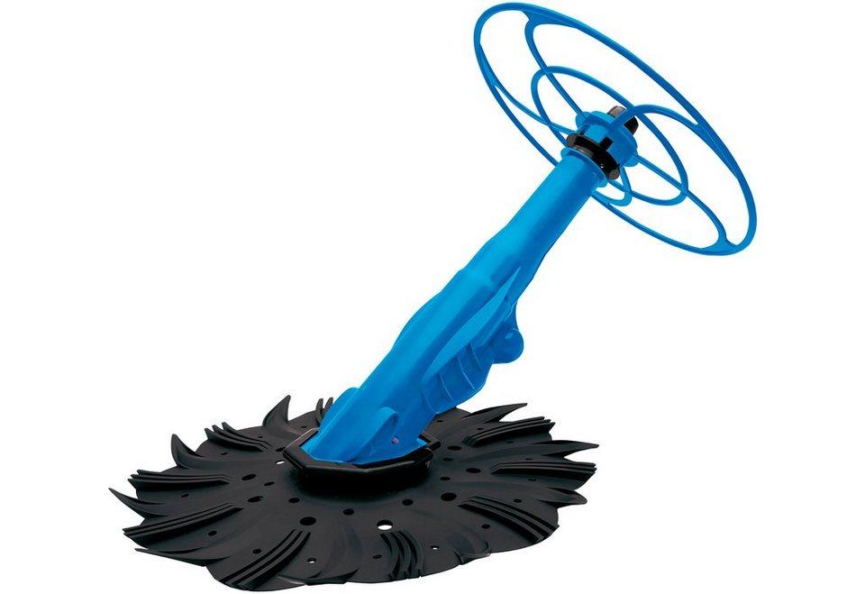 Automatischer »Bodenreiniger S4« in blau