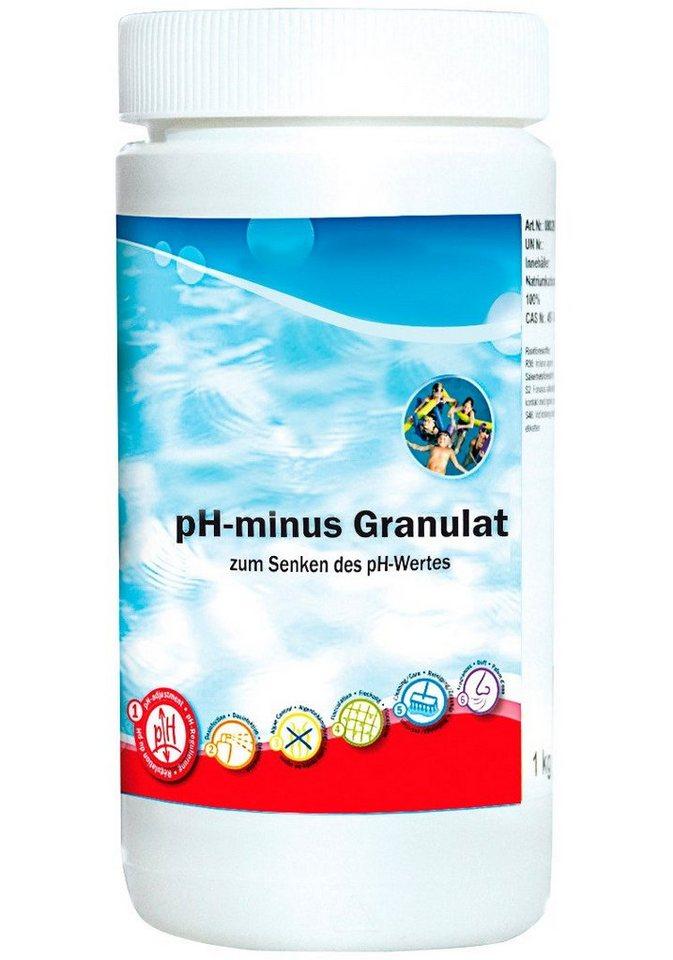pH-Regulierung »pH-Minus Granulat 2 kg Dosen« in weiß