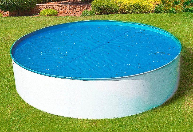 Poolinnenhüllen für Achtformbecken, 0,6 mm Stärke (o. Abb.) in blau
