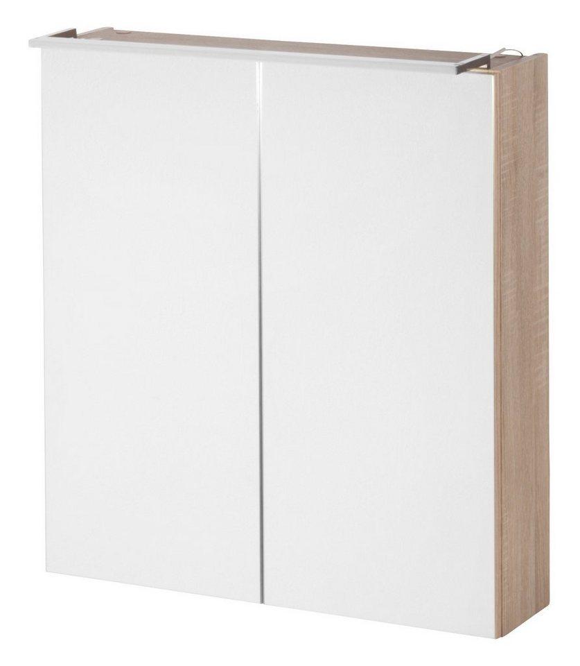 kesper spiegelschrank montana breite 60 cm mit led beleuchtung online kaufen otto. Black Bedroom Furniture Sets. Home Design Ideas