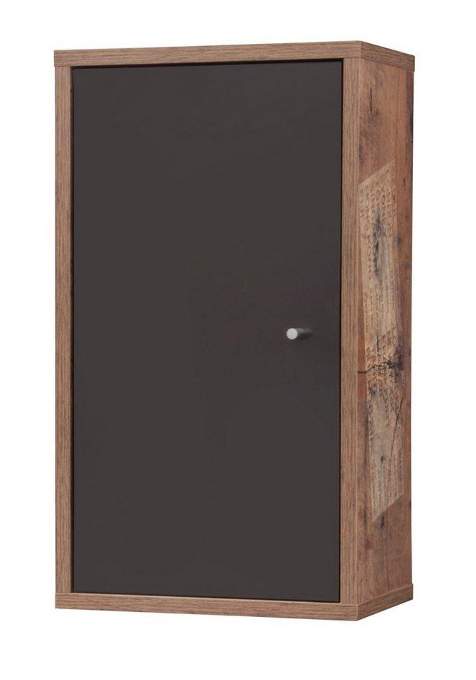 Schildmeyer Hängeschrank »London«, Breite 31 cm in eichefarben/bunt