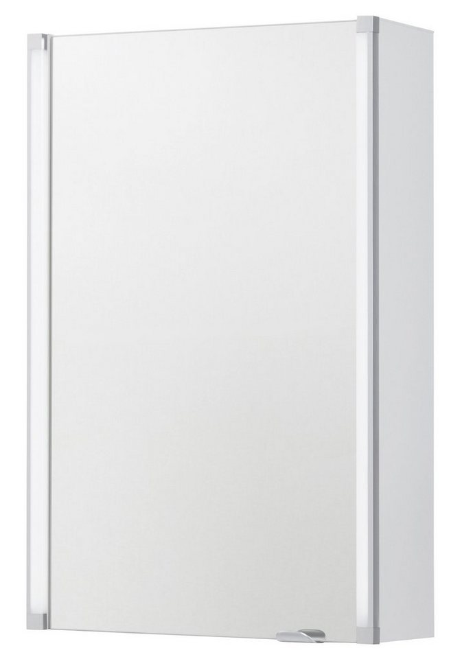 Spiegelschrank »LED-LINE«, Breite 42,5 cm in weiß
