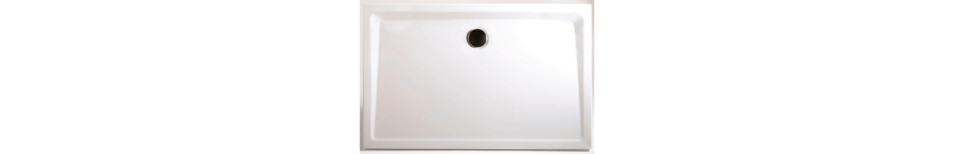 Rechteckduschwanne »Extraflach«, 80/100 cm