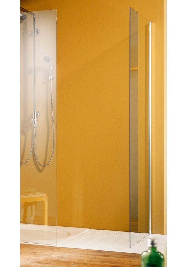 Großraumdusche »Free & Easy«, 120cm x 90cm in chromfarben