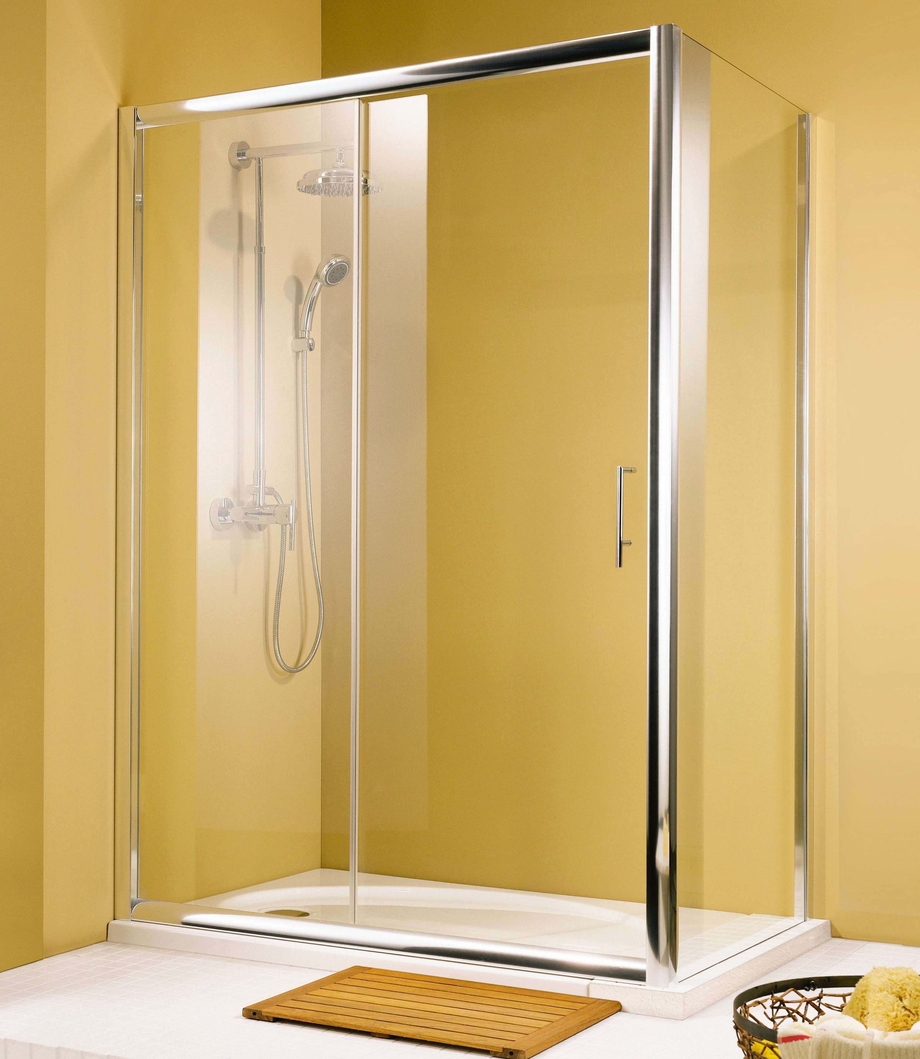 Schulte Seitenwand »Kristall Trend«, 90 cm x 90 cm