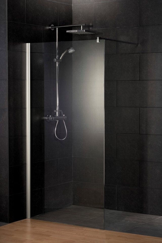 Duschwand »Alexa Style 2.0«, 120 cm in chromfarben