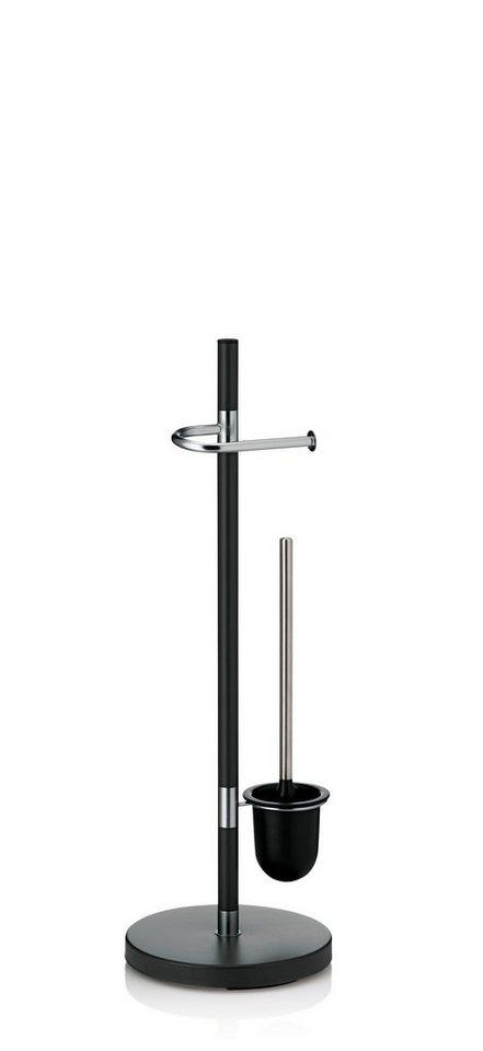 WC-Garnitur »Sinerio« in anthrazit