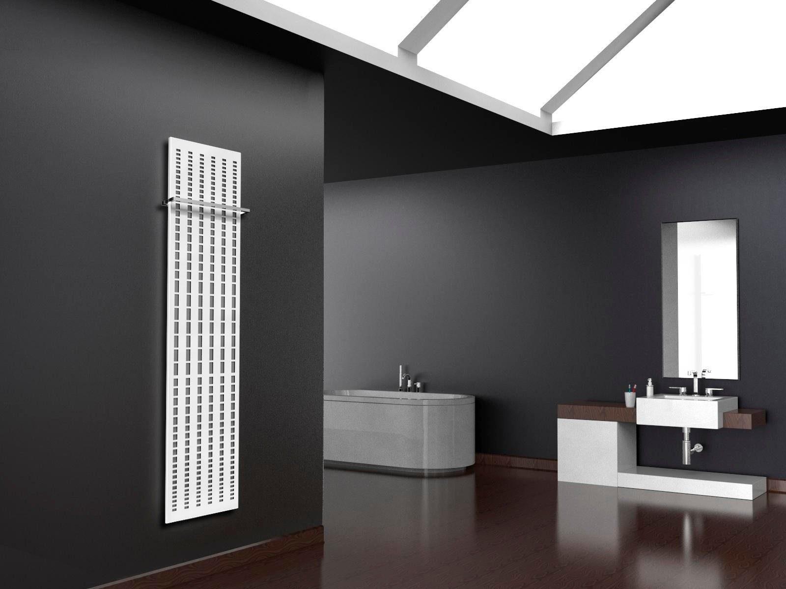 Sz Metall Design-Badheizkörper »Broken Mirror« in edelstahl-weiß, 1118 Watt