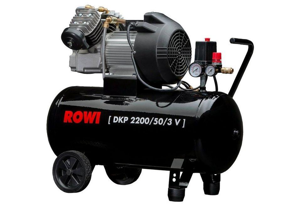 Kompressor »DKP 2200/50/3 V« in schwarz