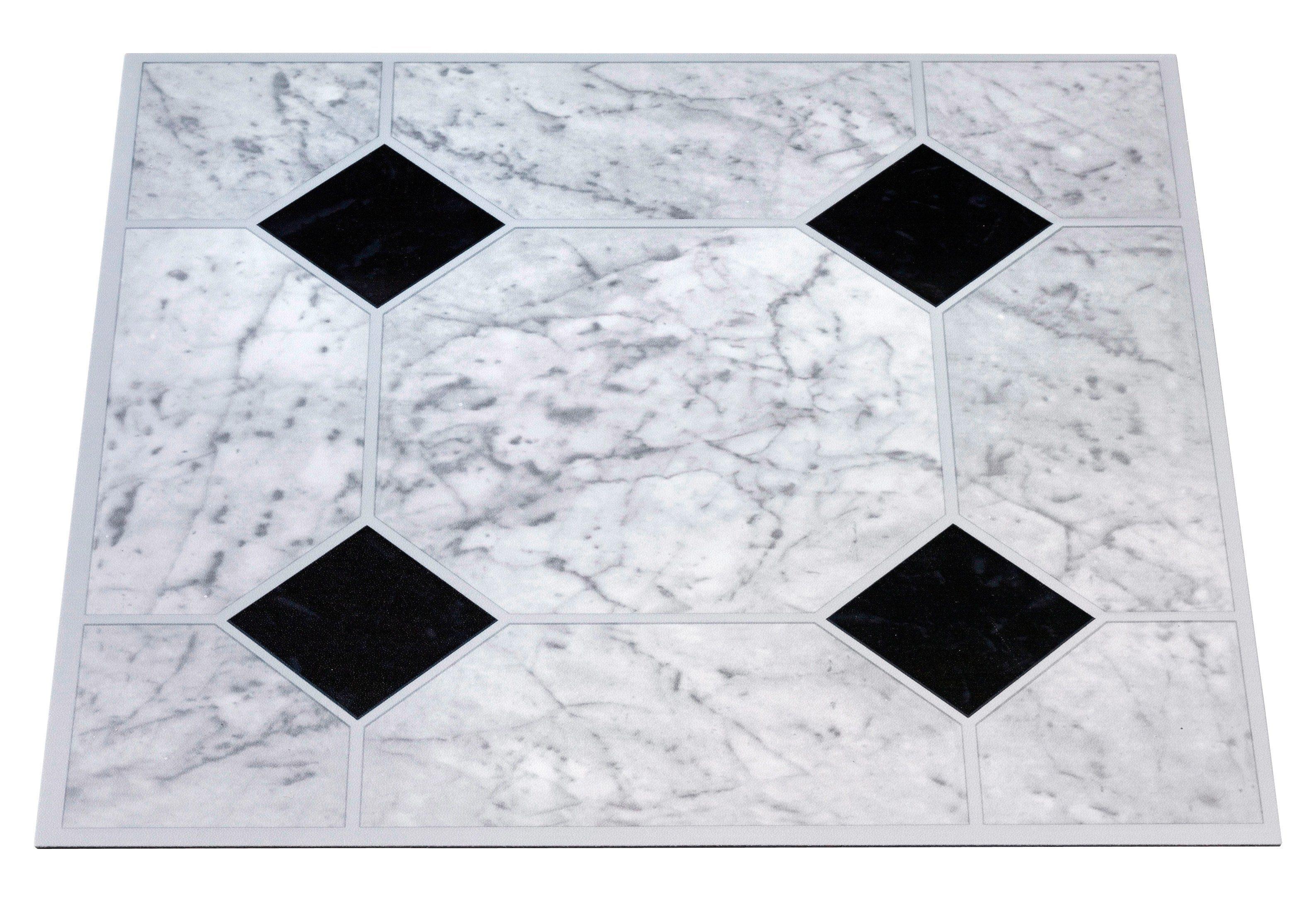 Pvc Fußboden Weiß ~ Pvc boden vinyl fliesen mm fliesen« selbstklebend