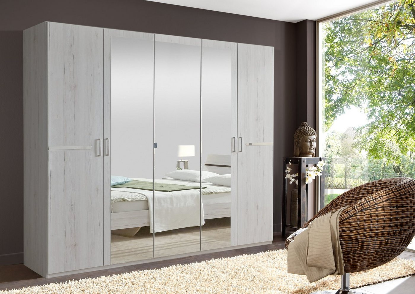 weiss kleiderschrank 180 cm breit machen sie den preisvergleich bei nextag. Black Bedroom Furniture Sets. Home Design Ideas