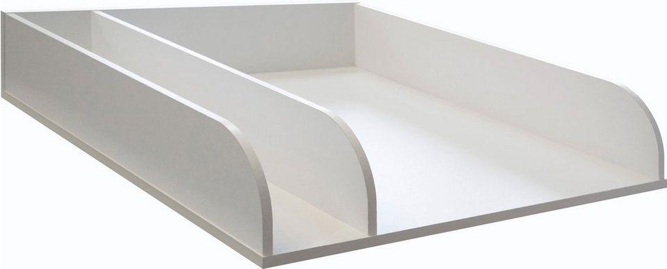 wickelplatte zur auflage auf das babybett kaufen otto. Black Bedroom Furniture Sets. Home Design Ideas