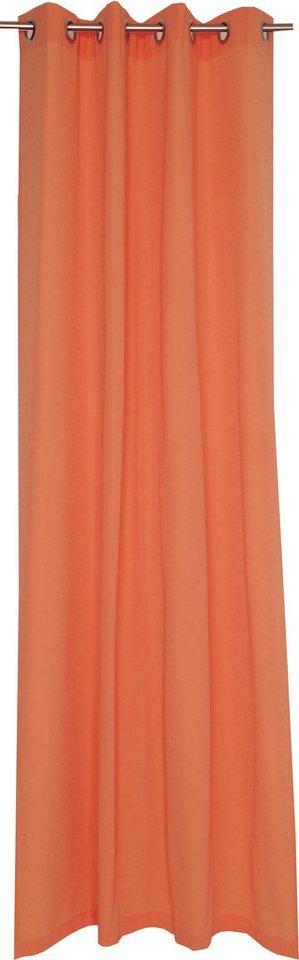 Vorhang, Schöner Wohnen, »Mono« (1 Stück) in orange
