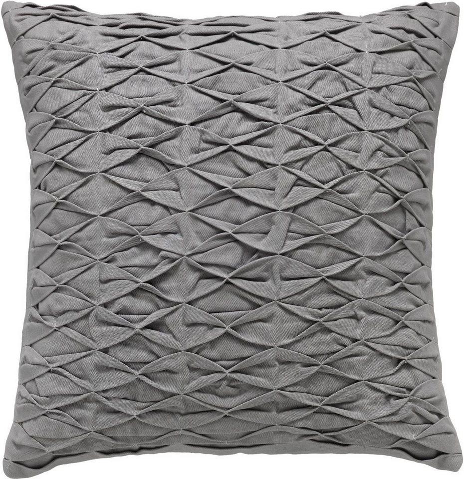 Kissenhülle, Schöner Wohnen, »Stitch« (1 Stück) in grau