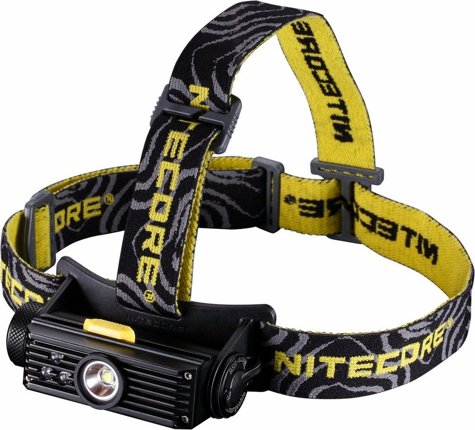 NITECORE Camping-Beleuchtung »LED Stirnlampe HC90« in schwarz