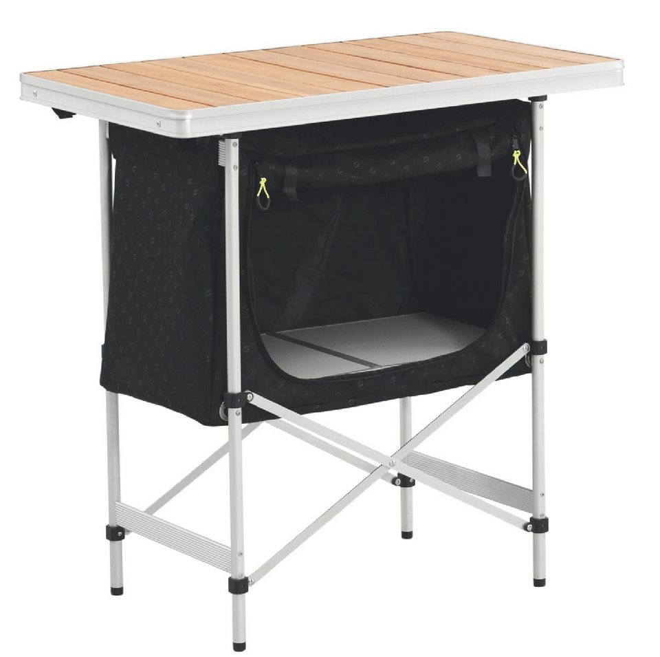 Outwell Camping-Schrank »Regina Kitchen Table with Bamboo Tabletop« in schwarz