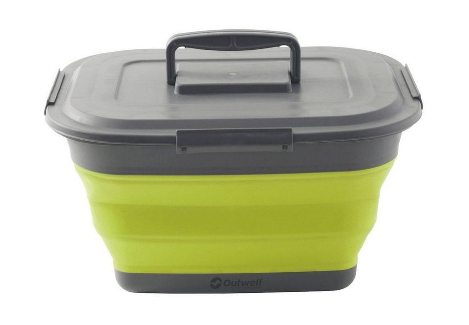 Outwell Campingtruhe & -Kiste »Collaps Storage Box L green« in grün