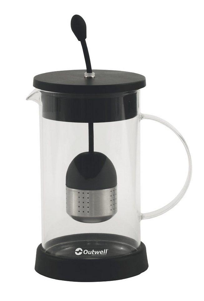 Outwell Camping-Geschirr »Tritan Tea Press 8 Cups« in transparent