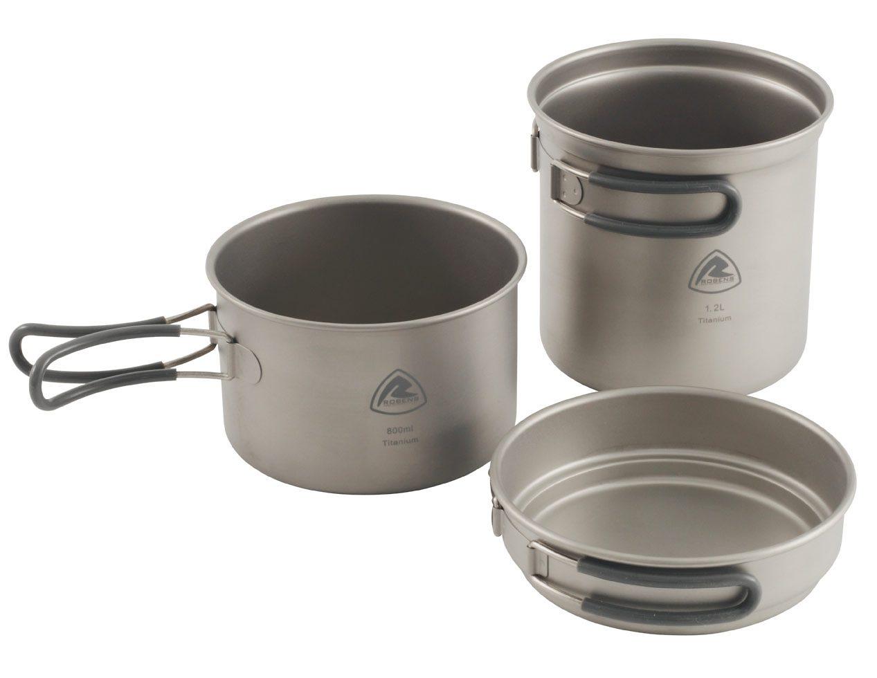 Robens Camping-Geschirr »Titanium Cook Set«