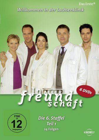 DVD »In aller Freundschaft - Die 06. Staffel, Teil...«