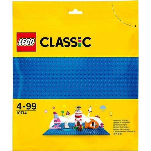 LEGO® Konstruktions-Spielset »LEGO® Classic 10714 Blaue Grundplatte«