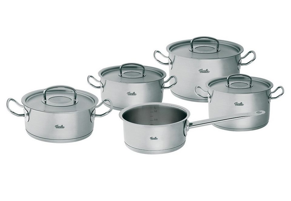 Fissler Topf Set Original Profi Collection Edelstahl 1810 Set