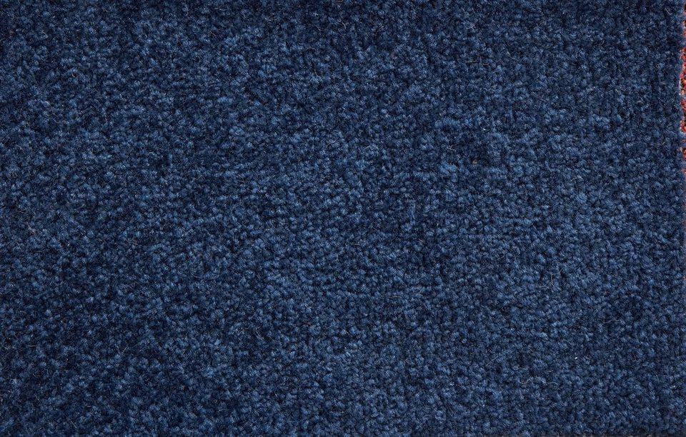 Teppichboden »Ines«, Breite 400 cm in dunkelblau