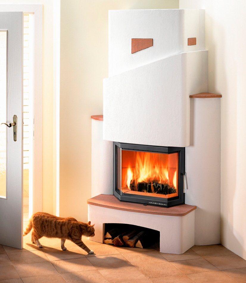 Brandschutzset »Kaminbausatz Roma« in weiß