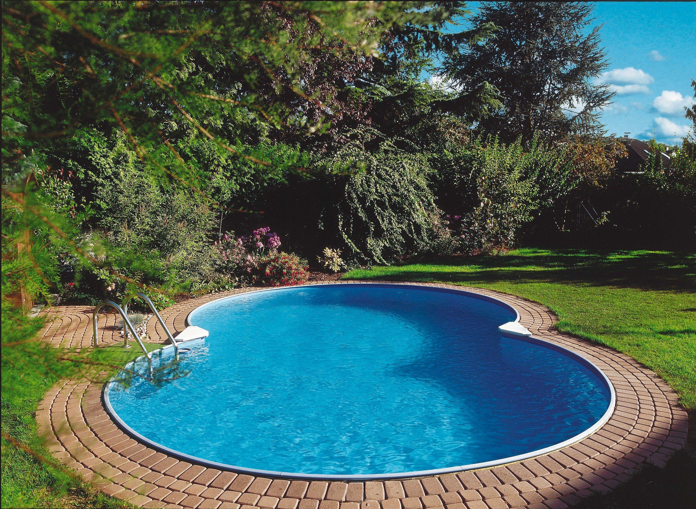 Clear Pool Set: Achtformpool »Mallorca« (10-tlg.)