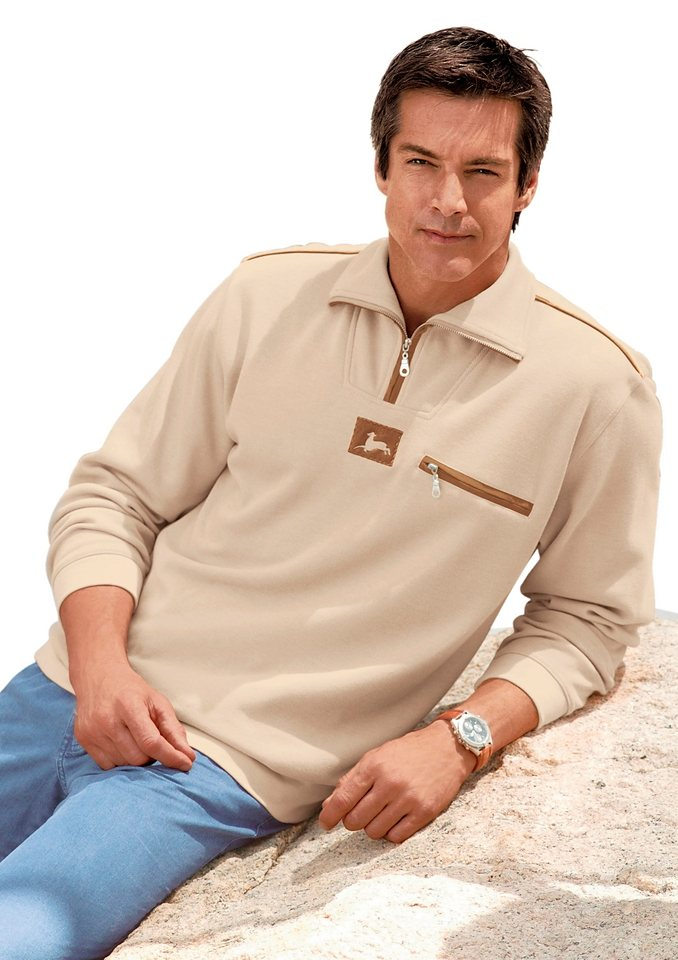 Catamaran Sweatshirt in beige
