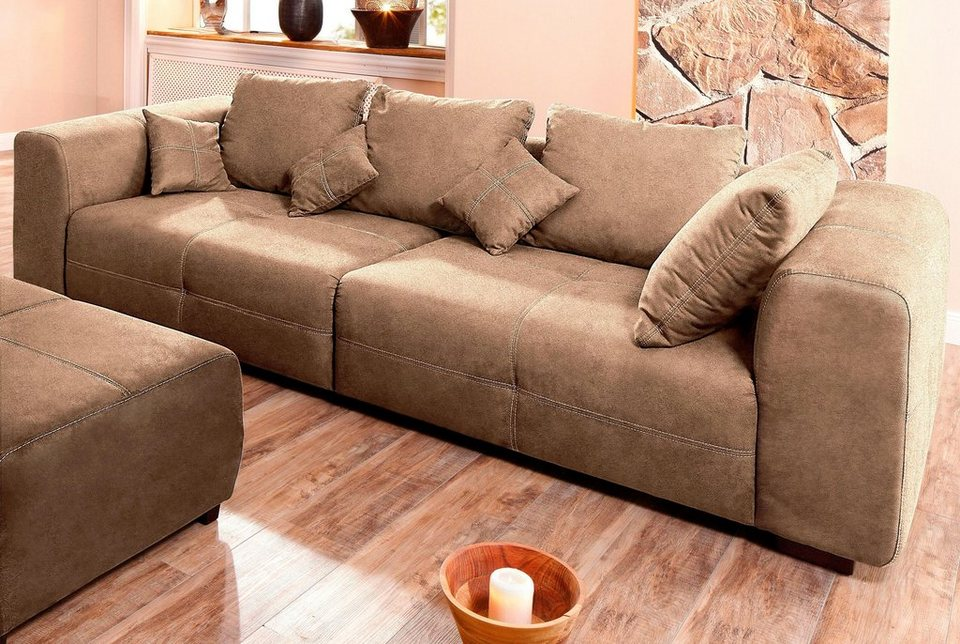 Premium collection by Home affaire Big Sofa Maverick